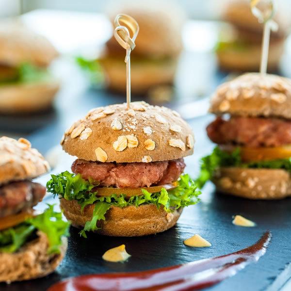 Catering Mini Hamburguesas